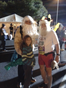 Marathon Santa and the SAME GUY